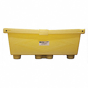 Spill Decks, Basins and Sumps, Covered, 264 gal. Spill Capacity, 1200 lb.