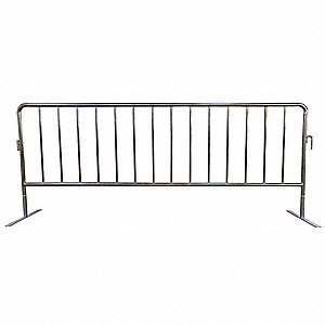 Crowd Control Barrier, 40-1/2inHx102inL