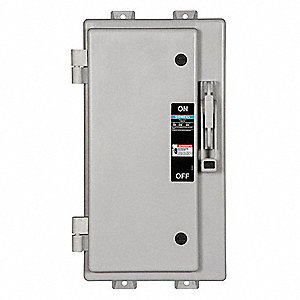 Safety Switch, 4X NEMA Enclosure Type, 100 Amps AC, 30 HP @ 600VAC HP