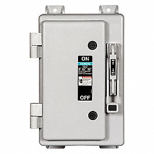 Safety Switch, 4X NEMA Enclosure Type, 30 Amps AC, 30 HP @ 600VAC HP