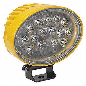 12/24V XL LED WORKLAMP, SPOT, PC