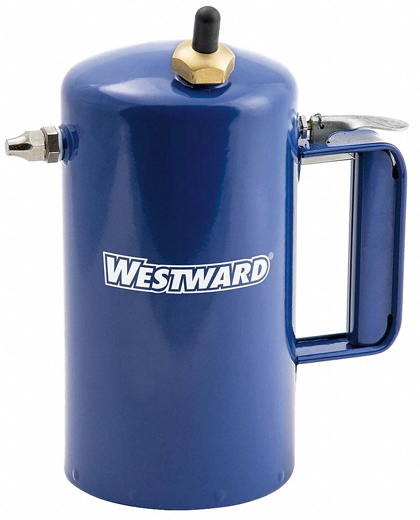 32 oz. Carbon Steel with Blue Enamel Reusable Sprayer