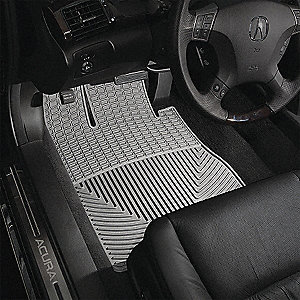 FLOORMAT FRONT GREY