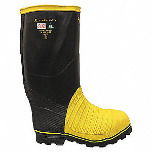 BOOTS MINER TALL 16IN SIZE 7