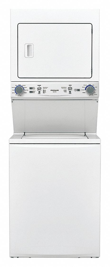 Washer Dryer Combo, Electric, White, Washer Capacity 4.0 cu ft, Dryer Capacity 5.6 cu ft