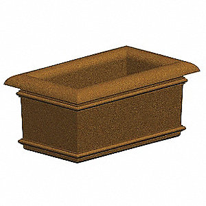 Security Planter,18 In. H