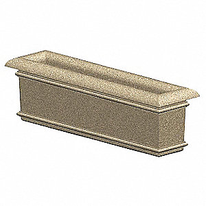 Security Planter, 18 In. H