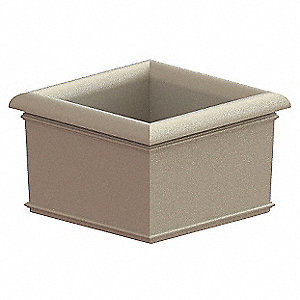 Security Planter,30 In. H
