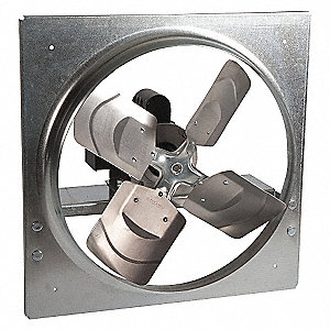 EXHAUST/SUPPLY FAN, 12 IN,3 PHASE
