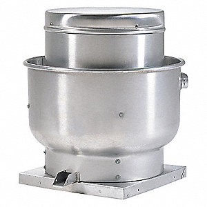 UPBLAST EXHAUST VENT, 14-3/4 IN.