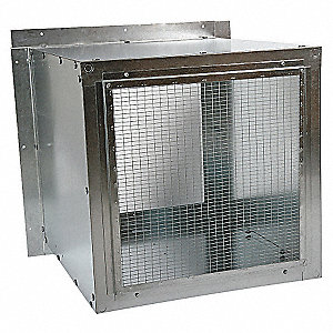 WALL HOUSING,GALV STEEL,FOR 20 IN