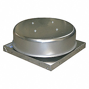 GRAVITY ROOF VENT,34 IN SQ BASE