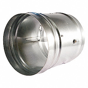 ROUND FIRE DAMPER,13-5/8 IN. D