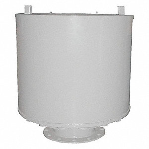 FILTER SILENCER, 12 FLANGE OUTLET