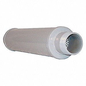 SILENCER ABSORPTIVE 2 IN MPT