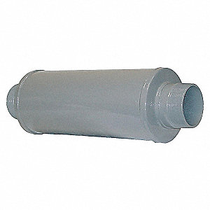 SILENCER ABSORPTIVE 3 IN MPT