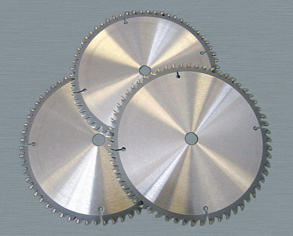 Circular Saw Blade,  Aluminum, Non-Ferrous Metals, Wood Materials Cut,  8 in Blade Dia.