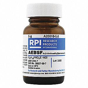 RPI AEBSF, Powder, 5g, 1 EA - 31FW08|A20010-5.0 - Grainger