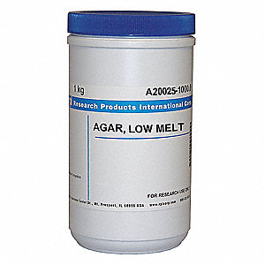 Agar/Low Melt, Powder, 1kg, 1 EA