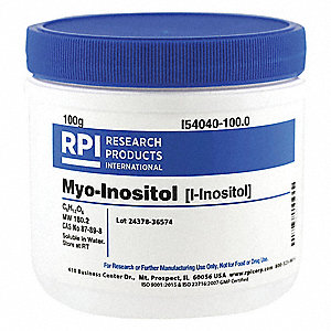 myo-Inositol (i-Inositol), 100g Powder