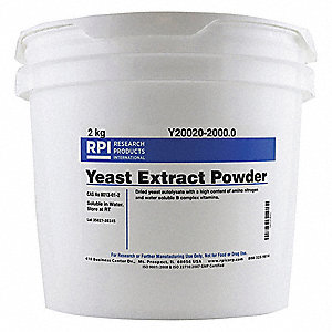 Yeast Extract, Powder, 2kg, 1 EA