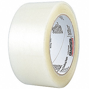 Polypropylene Carton Sealing Tape, Acrylic Adhesive, 48mm X 50m, 36 PK