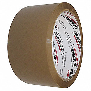 Polypropylene Carton Sealing Tape, Hot Melt Resin Adhesive, 72mm X 50m, 24 PK