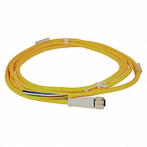 Cordset,Plug,5 Pin,Female