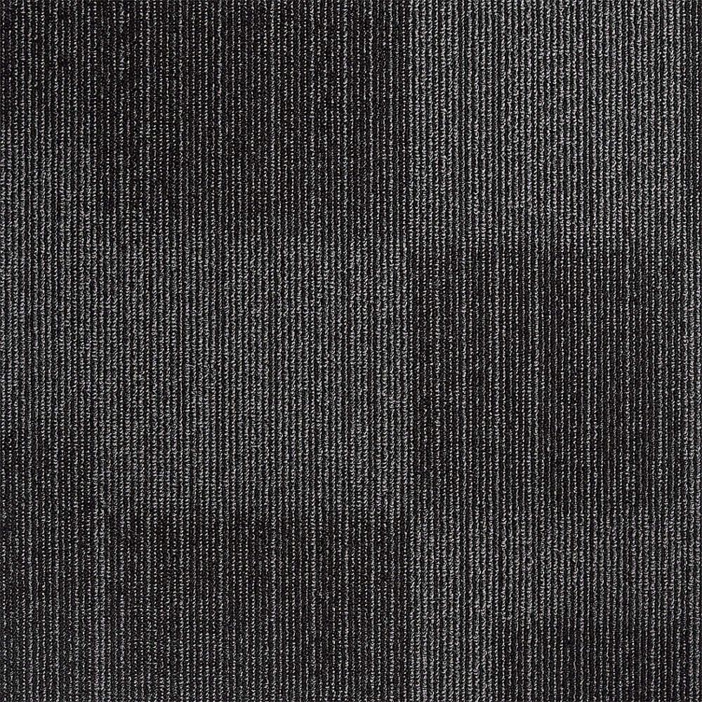 Grainger Roved Charcoal Carpet Tile