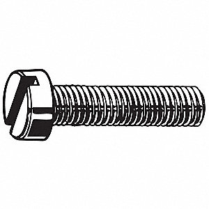 M2-0.40mm Machine Screw, A4 Stainless Steel, 5mm L, 50 PK