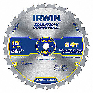 SAW BLADE 10IN 24T MARATHON M/T