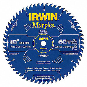 SAW BLADE MARPLES 10IN 60T ATB+R