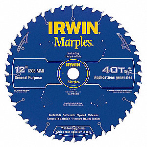 SAW BLADE MARPLES 12IN 40T ATB