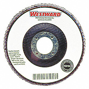 ARBOR MOUNT FLAP DISC,4IN,80,MEDIUM