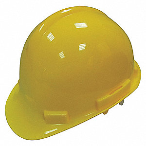 Hard Hat,G, E,Yellow,4 pt. Pinlock