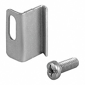Replacement Clamp Assembly, Chrome, Chrome Plated Finish, For Use With: NEMA 412C Enclosures, 1 EA