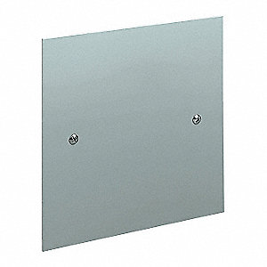 Replacement Cover, Steel, Galvanized Finish, For Use With: SC Enclosures, 1 EA
