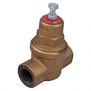 "EB-75 Series 3-49/64""L Iron Pressure Regulator, 10 to 70 psi"