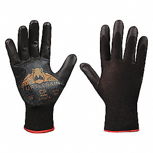 Cut Resistant Gloves,Blk,Nitrile,XL,PR