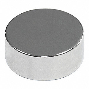 Disc Magnet,Neodymium,1/8 in.