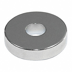 Ring Magnet,Neodymium,13/64 in.