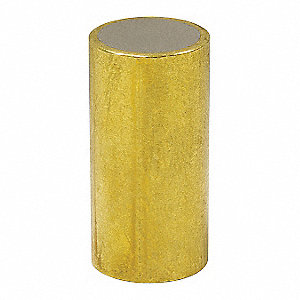 Shielded Magnet,Neodymium,1/4 in.