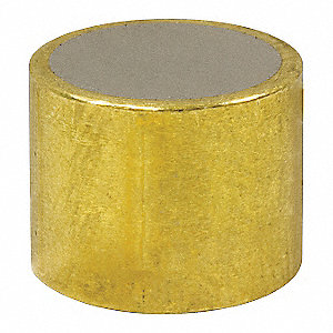 Shielded Magnet, Neodymium, 3/8 in.