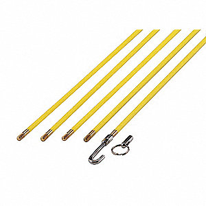 WIRE FISH STICK SET,24 FT,7 PC
