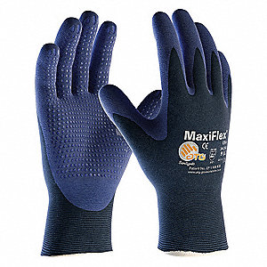 Coated Gloves,Palm/Fingers,XS,PR