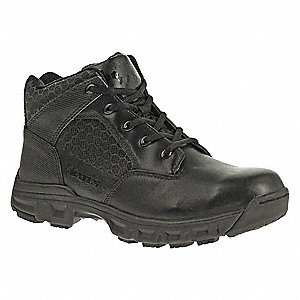 Military/Tactical Tactical Boots, Toe Type: Plain, Black, Size: 8-1/2