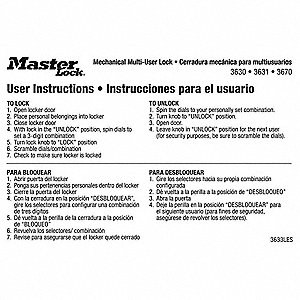 Instruction Magnet,English/Spanish,PK10