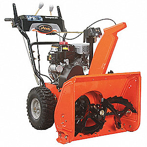 "Snow Blower, Clearing Path:  24"", Fuel Type: Gas, 11"" Auger Diameter"