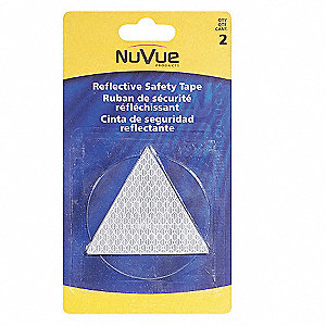 TAPE REFLECTIVE WHITE TRIANGLES
