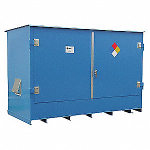 DOUBLE IBC STORAGE LOCKER